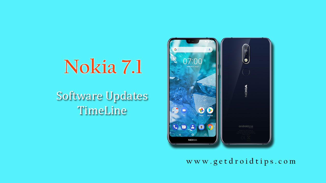 Nokia 7.1 Software Update Tracker and Timeline