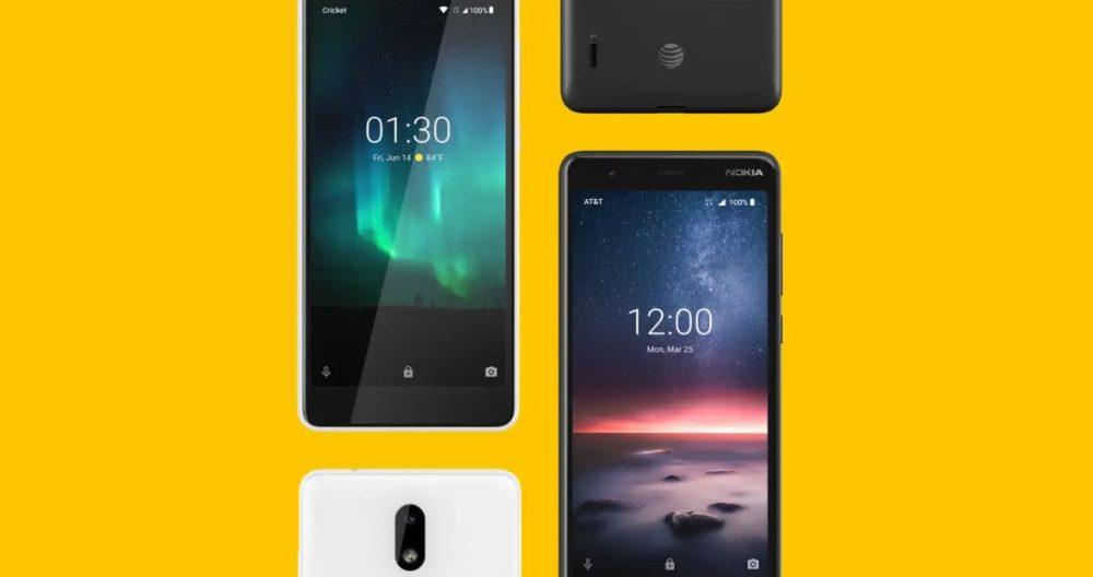 Nokia lanza el Nokia 3.1 en AT&T y Cricket Wireless, pero sin Android One