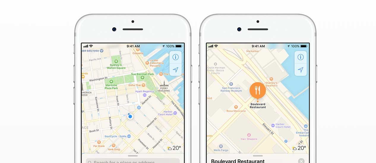 Nuevos huevos de Pascua vistos en los mapas de Apple que faltan en Google Maps