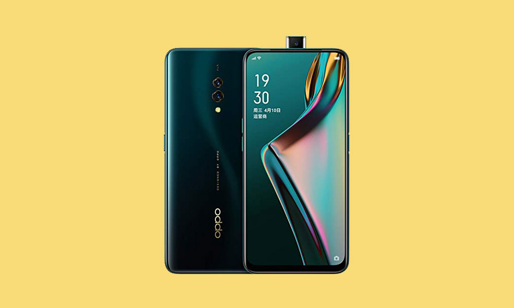 Oppo K3 September 2019 Security patch: CPH1955EX_11_A.03