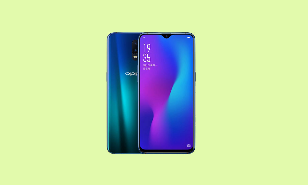 Oppo R17 and R17 Pro receives December 2019 Security patch [Download added]