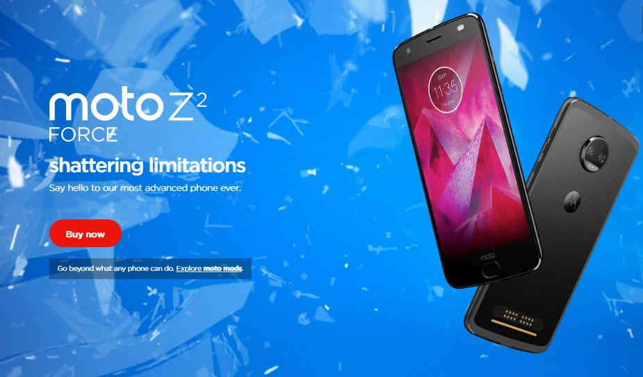 PPx29.159-10: Moto Z2 Force Android 9.0 Pie Update