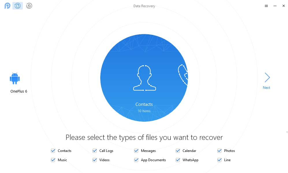 PhoneRescue Android data recovery software