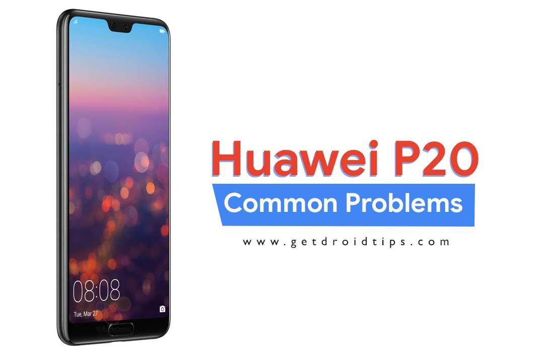 Problemas comunes de Huawei P20 y soluciones: Wi-Fi, Bluetooth, cámara, SIM y más