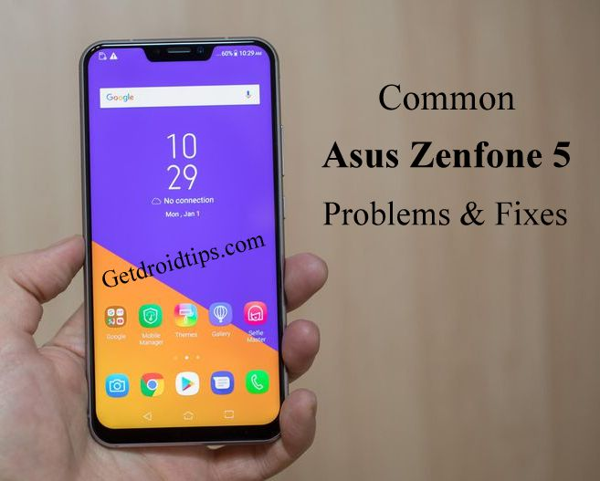 common Asus Zenfone 5 problems and fixes