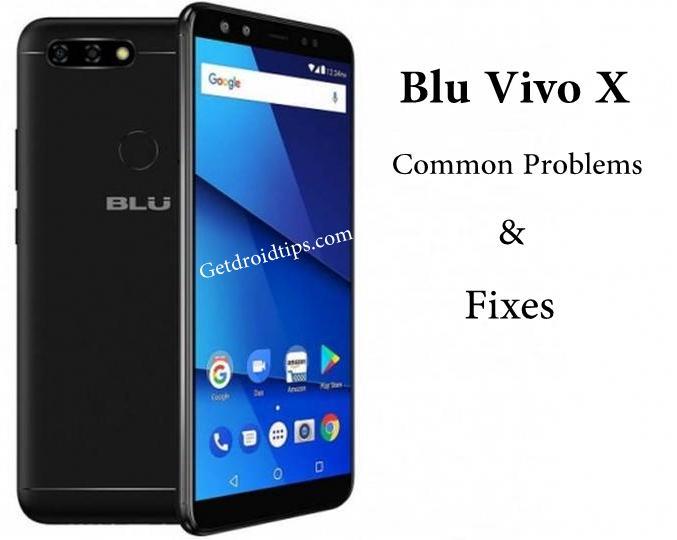 Problemas y soluciones comunes de Blu Vivo X