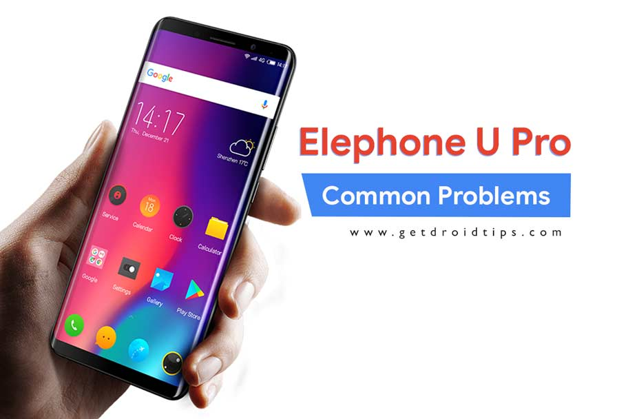 Common Elephone U Pro Problems and Fixes - Wi-Fi, Bluetooth, Camera, SIM, and More