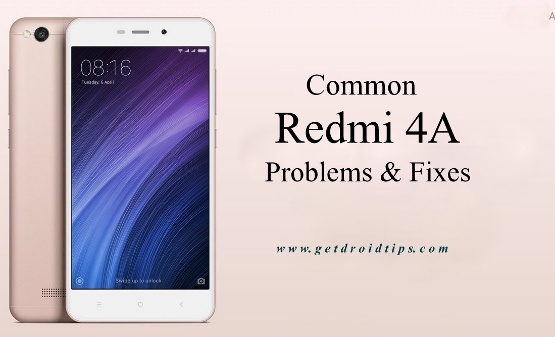 common Redmi 4A problems and fixes