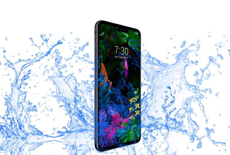 LG G8 ThinQ Waterproof and Dustproof test?