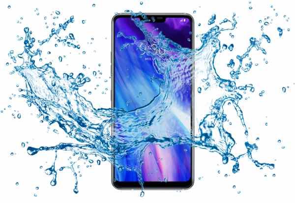 Prueba de estanqueidad LG G7 + ThinQ.  ¿Sobrevivirá bajo el agua?