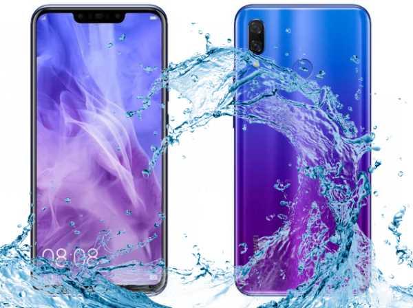 Prueba de impermeabilidad de Huawei Nova 3
