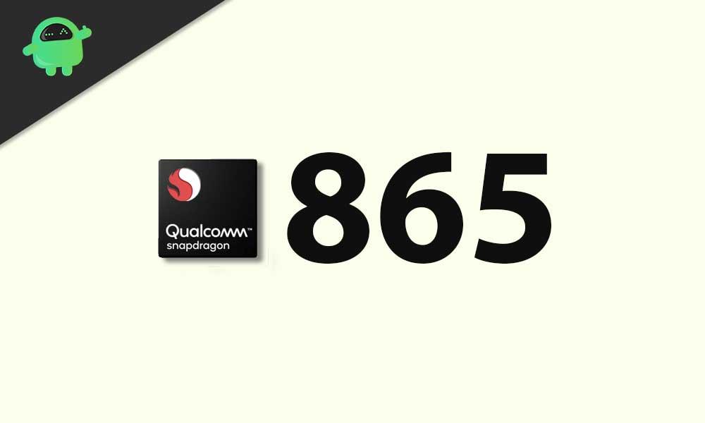 Qualcomm Snapdragon 865: Lista de teléfonos inteligentes compatibles