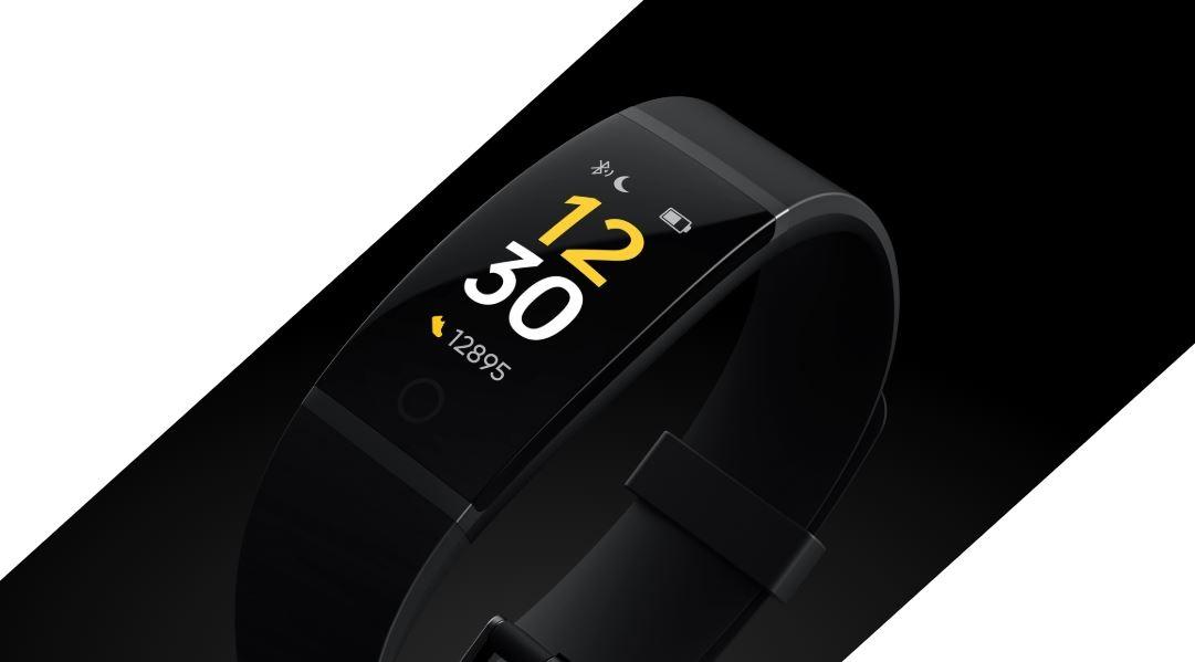 Rastreador de actualizaciones de software de Realme Band - v8.0 lanzado Agregar ritmo cardíaco, control de música