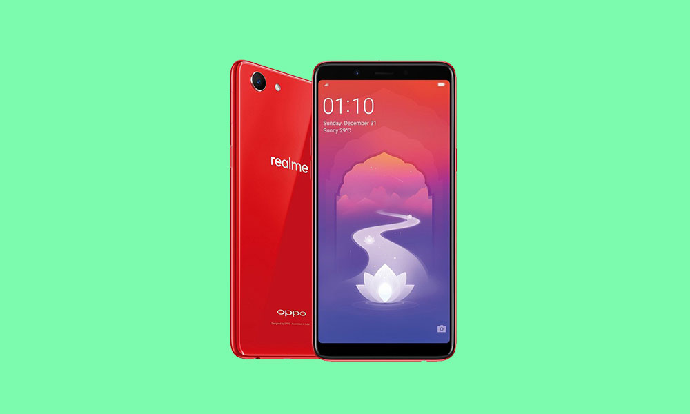 Realme 1 October Security patch rolled: CPH1861EX_11_C.45