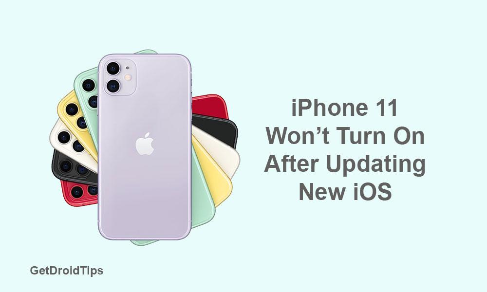 Fix iPhone 11 that won