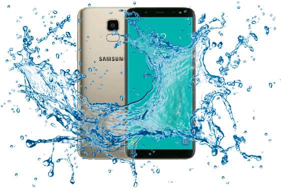 Samsung Galaxy J6+ Waterproof device or not? - Waterproof test
