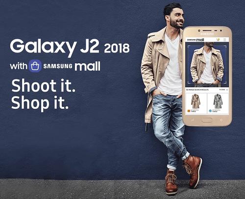 Samsung anuncia J2 2018 para el mercado indio de Rs.  8,190