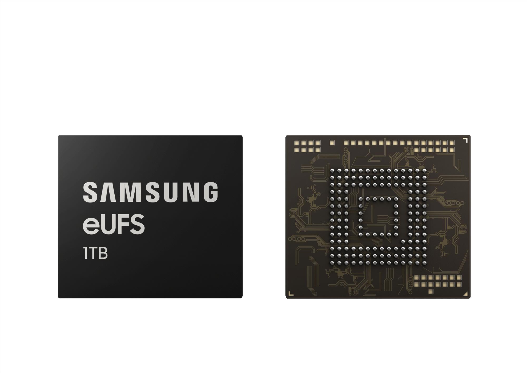 Samsung trae un dispositivo de almacenamiento de 1TB pero no en la serie Galaxy S10