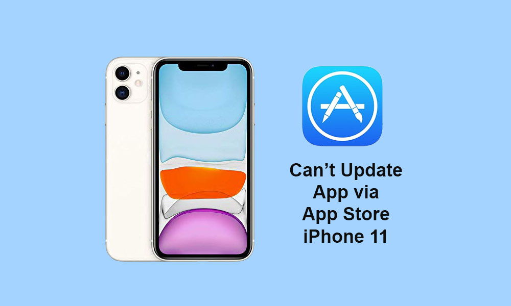 [Solved] iPhone 11 not able to update apps through App store - How to fix