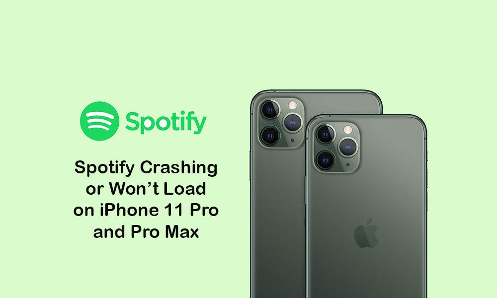 Spotify keeps crashing or won