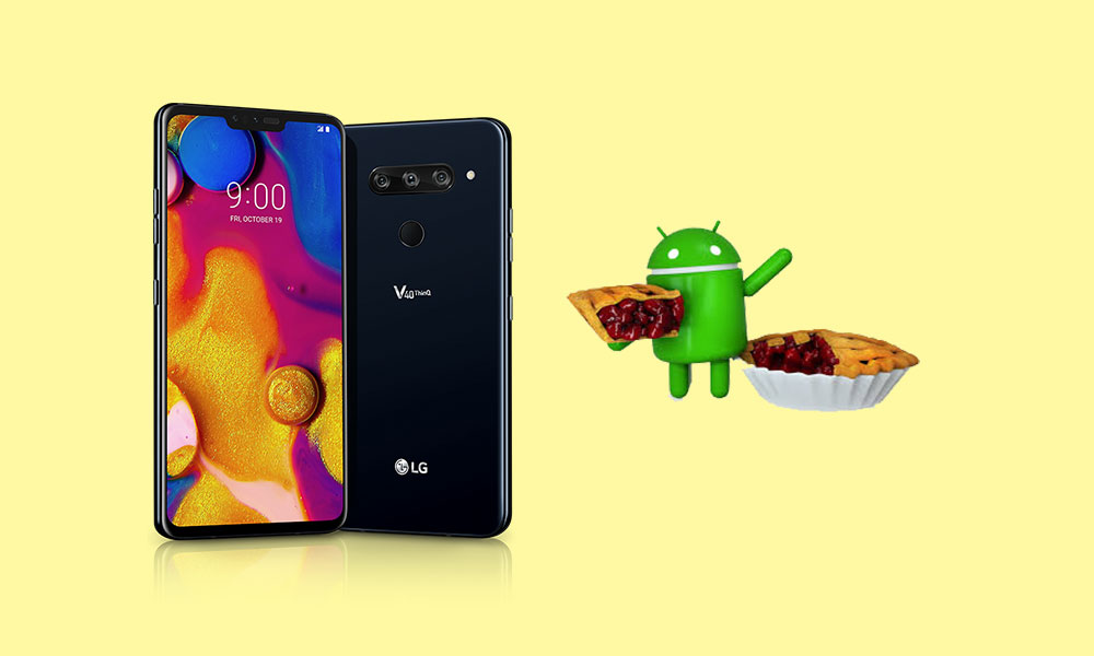 T-Mobile LG V40 ThinQ gets Android 9.0 Pie update