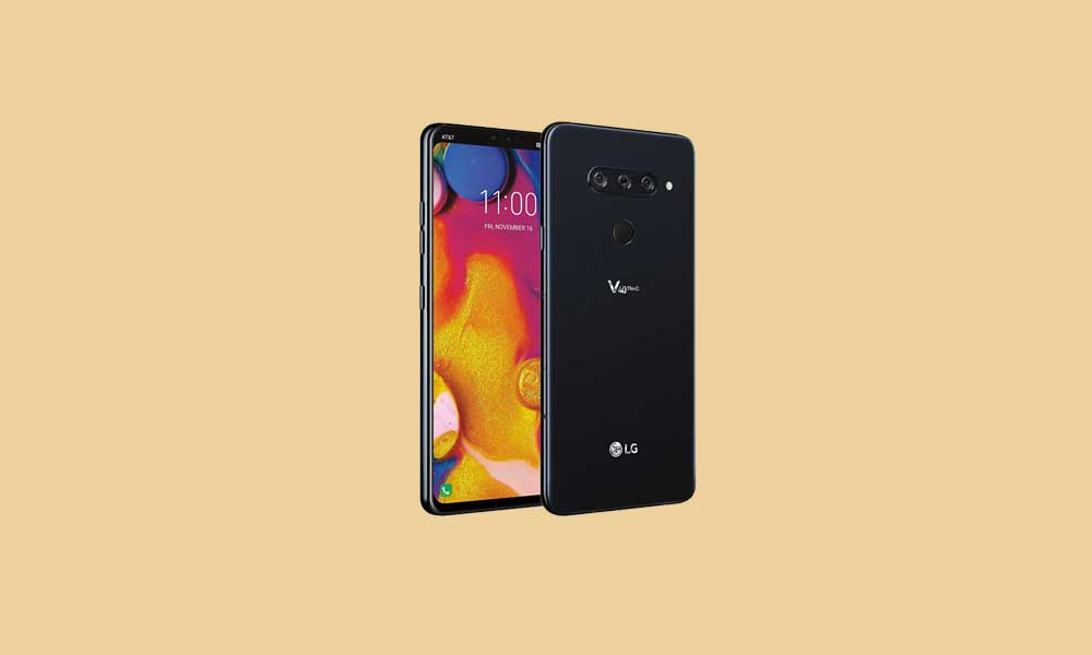 T-Mobile LG V40 receives a new update with Software Version V40511c