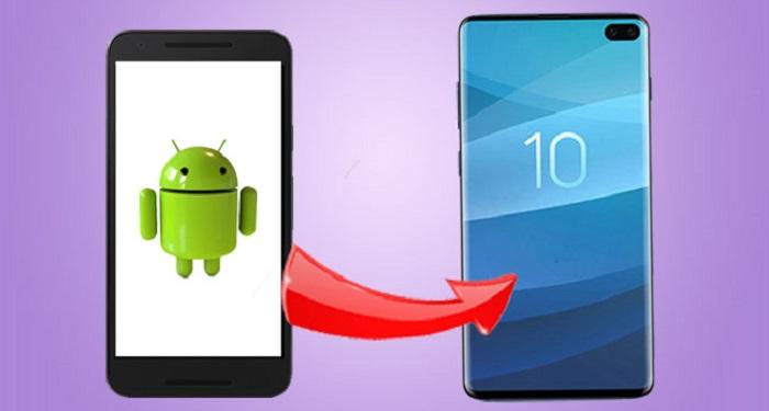 Transfiera archivos desde cualquier teléfono Android a Samsung Galaxy S10, S10E o S10 Plus