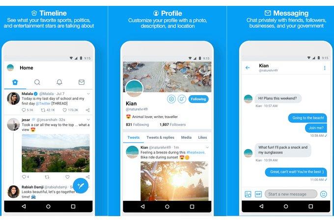 Twitter  Lite se expande a 21 países, recibe notificaciones push