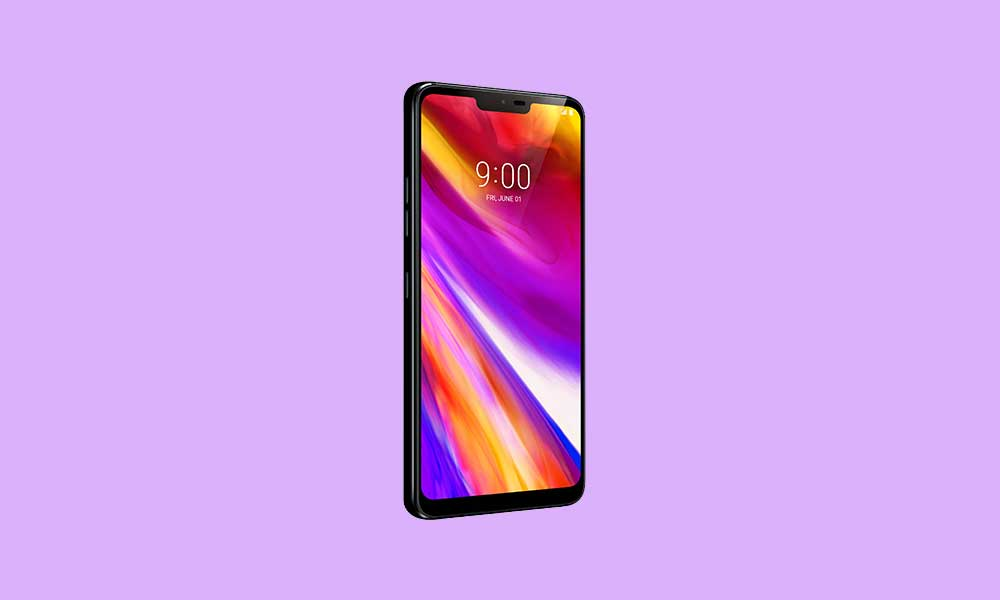 LG G7 thinQ G710VMX20E December 2019 security patch
