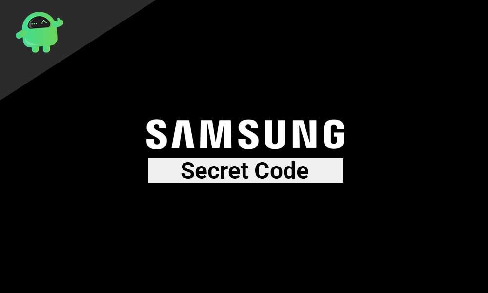 Check a Samsung Device Using Secret Code *#0*#