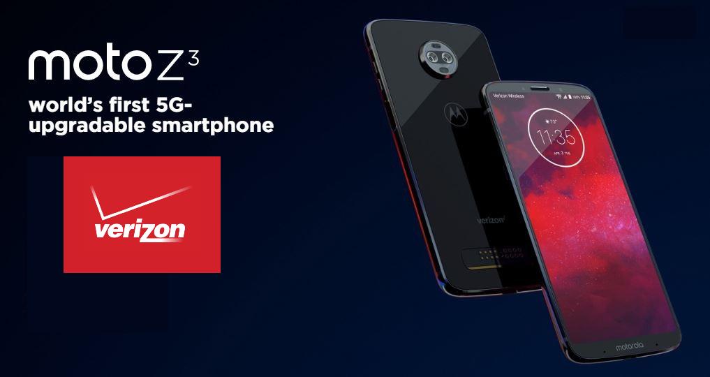 Verizon Moto Z3 recibe el parche de seguridad de junio de 2019 con velocidades de datos mejoradas