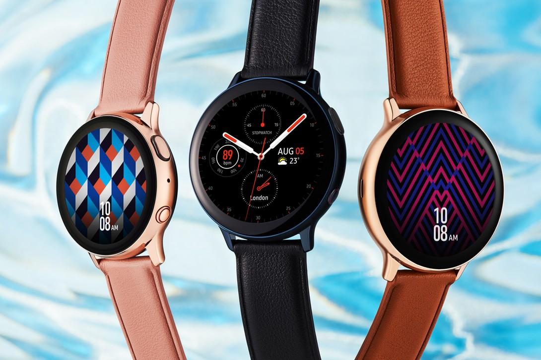 Verizon Samsung Galaxy Watch Active2 Rastreador de actualizaciones de software