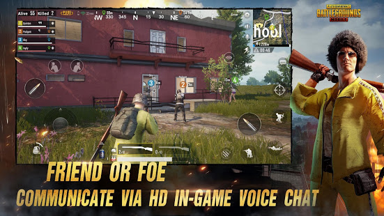PlayerUnknowns Battlegrounds versión de Android