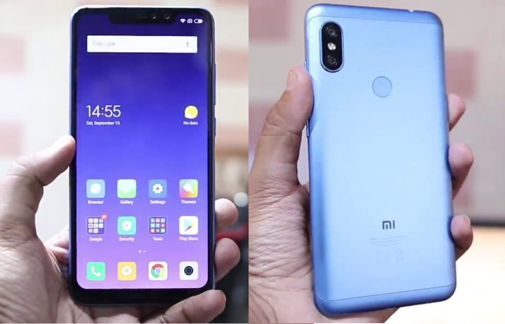 Xiaomi Redmi Note 6 Pro hands on video leaked, design and specs leaked