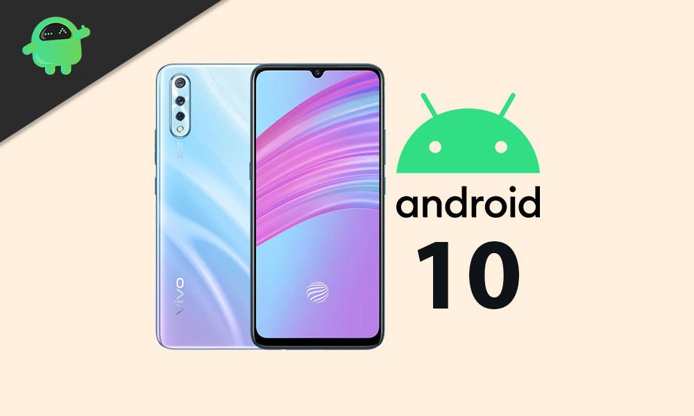 Vivo S1 Android 10 bajo la actualización de Funtouch OS 10 - Cronología de lanzamiento