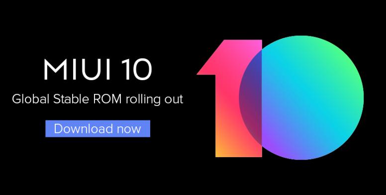 Xiaomi Mi 5 recibe la actualización estable global de MIUI 10