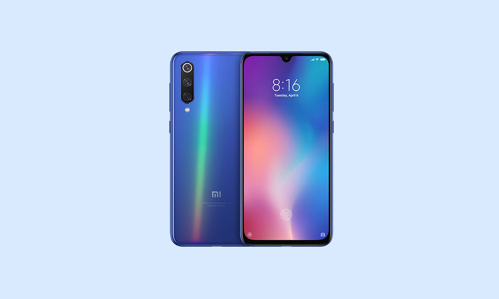 Xiaomi Mi 9 SE received Android 10 update in China: V11.0.2.0.QFBCNXM