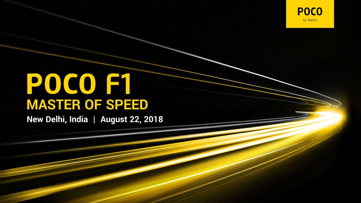 Xiaomi Pocophone F1 llega a India el 22 de agosto