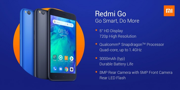 Xiaomi first Android Go phone goes official, Redmi Go