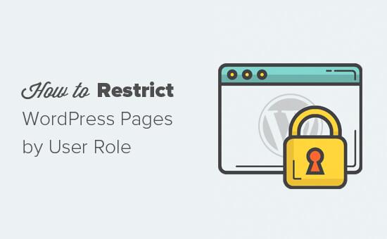 Restringir contenido por rol de usuario