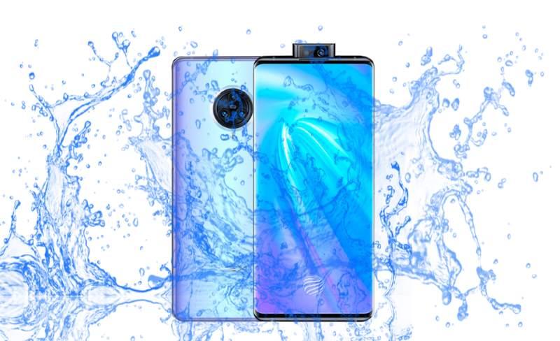 vivo NEX 3 Waterproof device with popup camera?