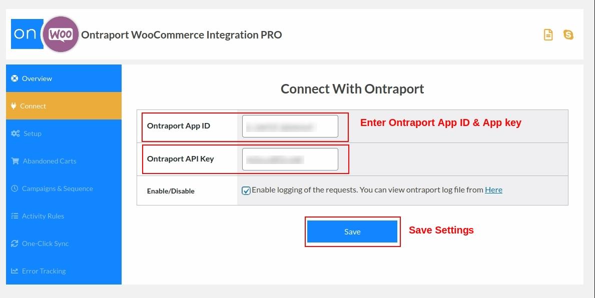 Conecte la tienda WooCommerce con Ontraport