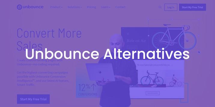 Las mejores alternativas de Unbounce