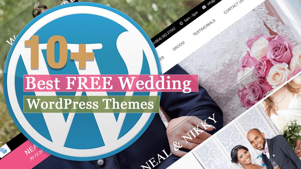 Los mejores temas gratuitos de WordPress para bodas
