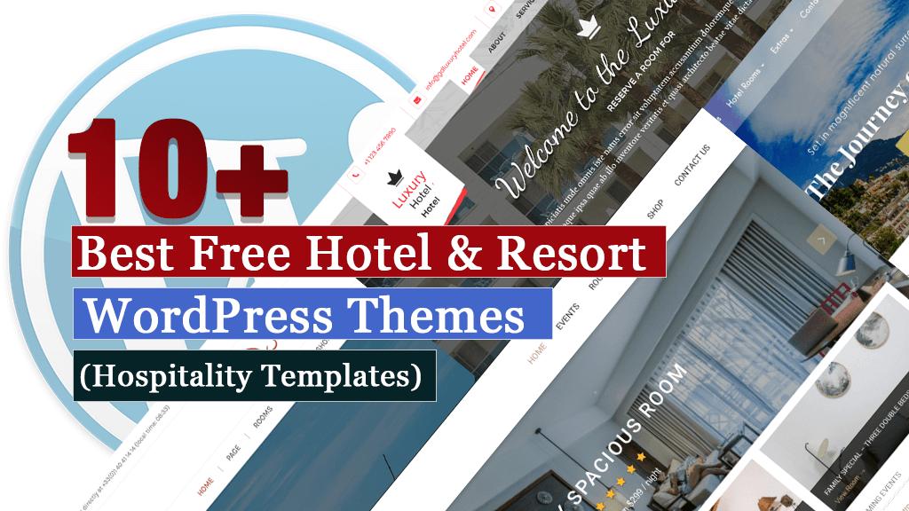Los mejores temas gratuitos de WordPress para albergue y resort (plantillas de hostelería)