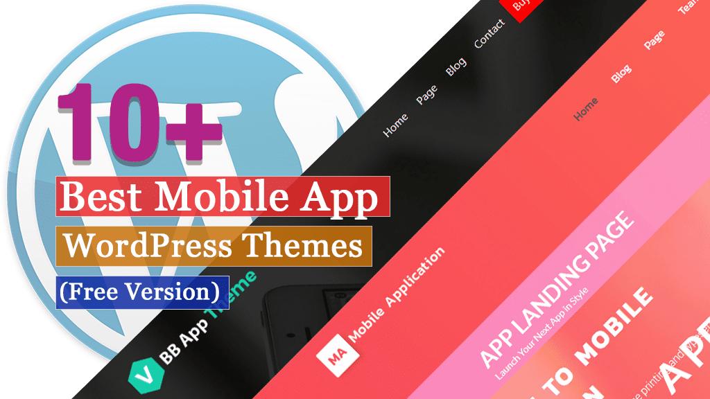 Los mejores temas de WordPress para aplicaciones móviles gratuitas