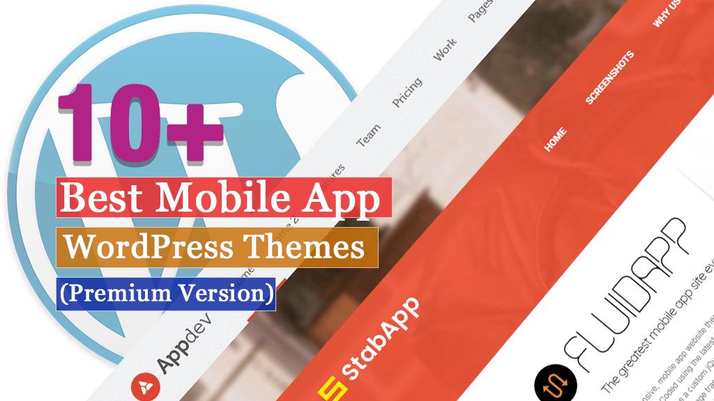 Los mejores temas de WordPress para aplicaciones móviles premium