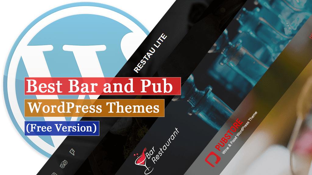 Los mejores temas gratuitos de WordPress para bares y pubs