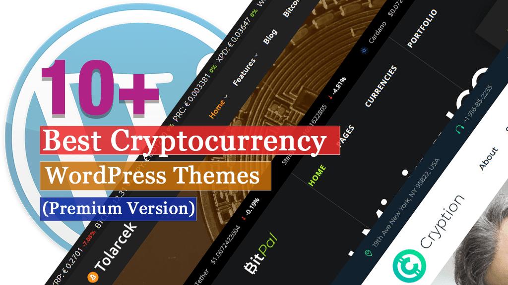 Los mejores temas de WordPress para criptomonedas premium
