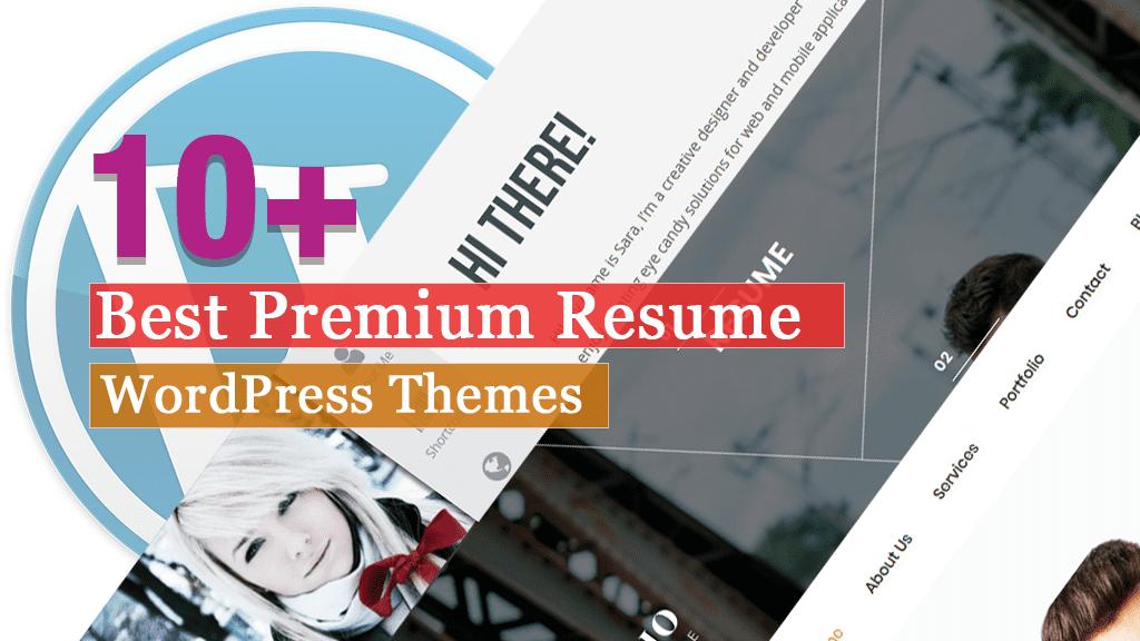 Los mejores temas de WordPress para currículum vitae premium